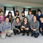 NPO理事会及び韓国料理の様子