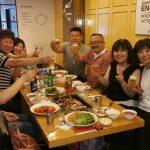 ソウルで李支部長夫婦と。